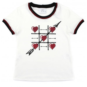 T-shirt Heart TwoIn 789007